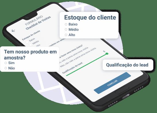 Checklist das visitas externas a clientes